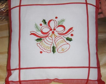 Holiday Bell Pillow