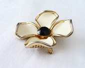 Vintage Large Vogue Dogwood Pin on Etsy