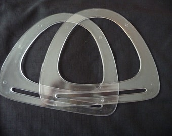 Vintage Lucite or Plastic Purse Handles on Etsy