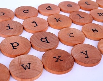 Montessori Alphabet - Educational Toy - Lowercase Letters