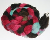 hand dyed Blue-Faced Leicester - Vampish