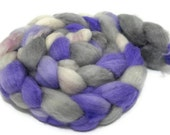 Lavender Pants - hand dyed superwash BFL roving