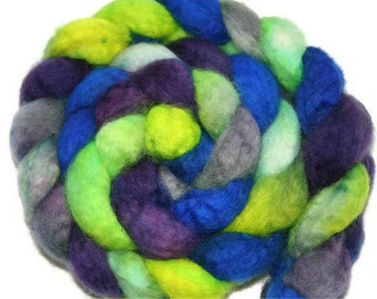 Moombaton - hand dyed superwash BFL roving