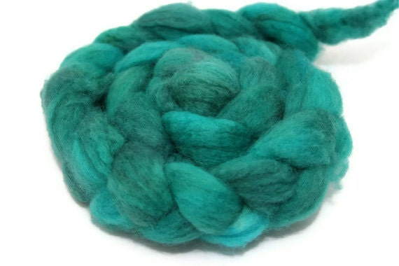 Gallery on High - hand dyed superwash BFL roving