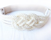 Bridal Sailor knot Belt