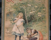 Circa 1860's Gute Freundschaft German Children's Book