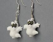Earrings - Ghosts for Halloween - SALE