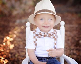Little Man Suspender and Bowtie set
