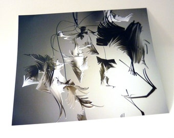 Cut Paper Sculpture Art Print - 8 x 10 photograph