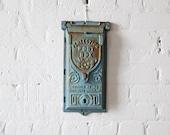 antique cast iron mail box
