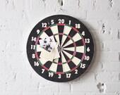 vintage dart game board