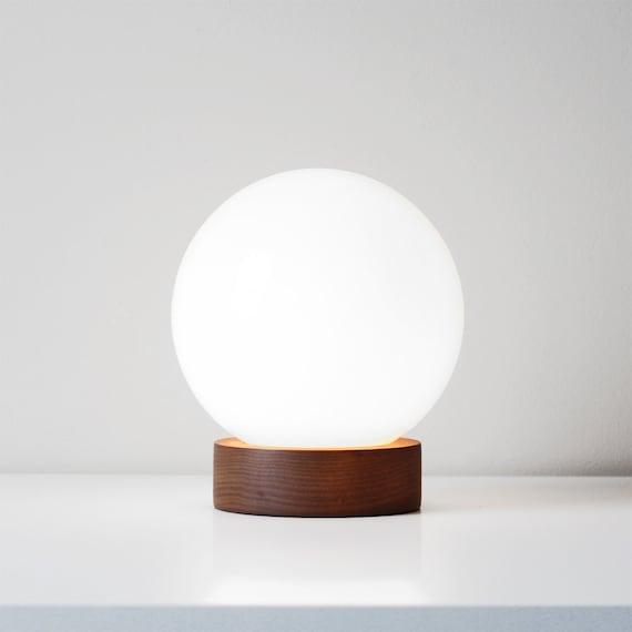 modern glass sphere lamp