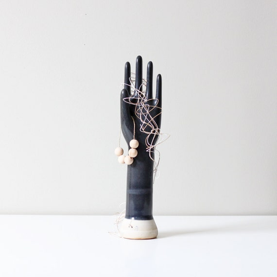 industrial midnight blue glove mold