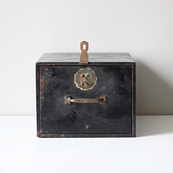 Industrial Black File Cabinet By Hruskaa On Etsy