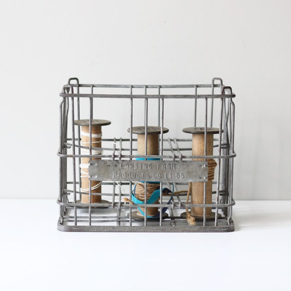 industrial divided milk crate