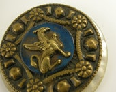Griffin and Mother of Pearl Button