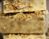 Orange-Oatmeal Soap -All Natural-