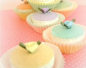 MINI PETIT FOUR FELT FOOD CAKE WEDDING FAVOR DECORATIONS