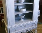 Maison China Cabinet. Vintage Poppy Cottage