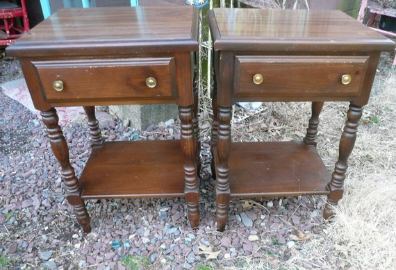 Pair of Cottage Bedside Tables.PAINT TO ORDER