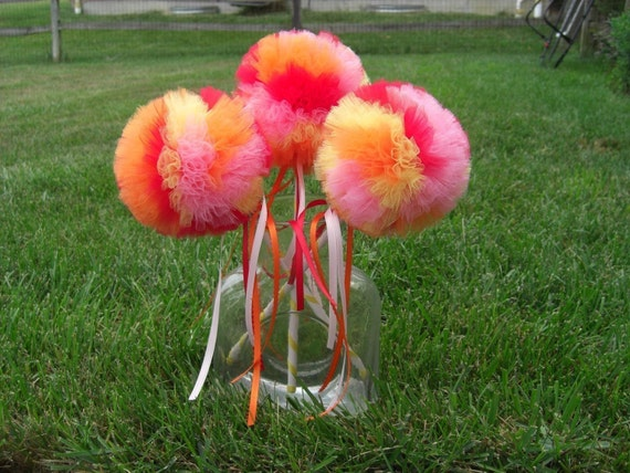 Fruit Cocktail Poof Wand-- Birthday Parties, Pretend Play, Halloween