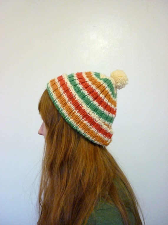 The Amazing Striped Knit Hat