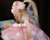 Faerie, OOAK, ART DOLL, Sculpted Cernit, Collectible Doll