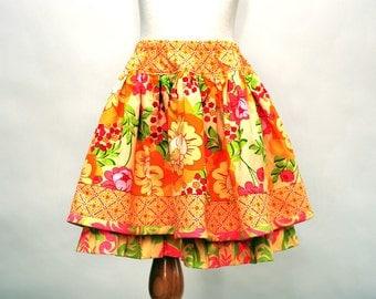 Girls Twirly Skirt, Girls Skirts, Children Clothing, Girl Clothing, Toddler skirts, Pink, Petticoat, Ruffle Skirt, size 2 3 4 5 6 7 8