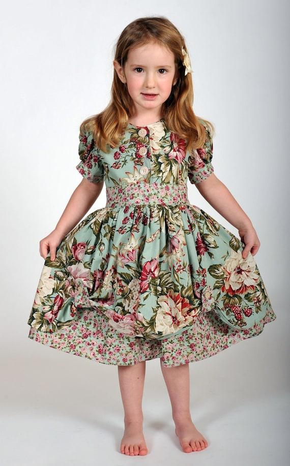 girls vintageinspired dress easter dress children clothing
