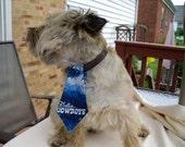 Dallas Cowboys Dog Tie