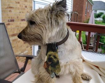 Realistic Terriers Dog  Tie