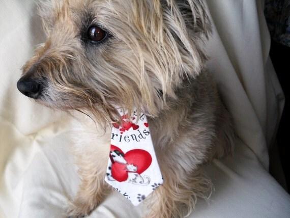 Valentines Day Necktie For Dogs