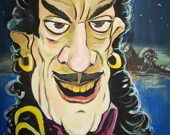 Karloff as Captain Hook by Mark Redfield