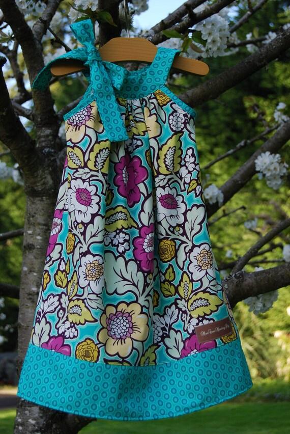 Little Girls Pillowcase Style Summer Dress sz 2T