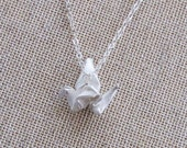 Origami Crane Necklace - mini
