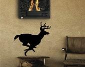 Run buck run, removable vinyl wall art decal