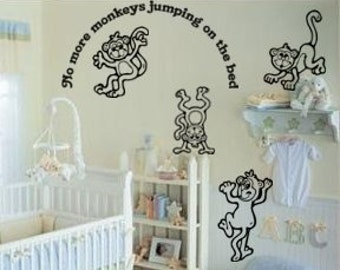 Nursery decal-Nursery sticker-Baby nursery decor-Quote decal-Quote sticker-33 X 36 inches 838-KA