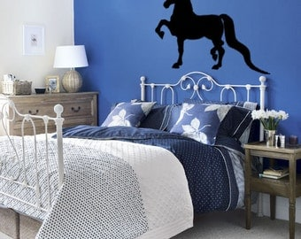 Horse decal-Morgan-Vinyl wall decal-Horse sticker-37 X 28 inches