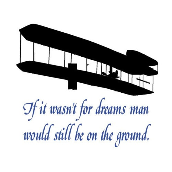 The Wright Brothers Quotes Custom Wright Brothers Wall Quote Decal Wall Words Aviation Quote