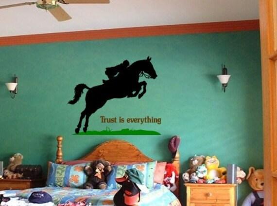 horse decal horse sticker quote horse vinyl by aluckyhorseshoe
