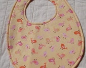 NEW - READY TO SHIP - BRQ Boutique-style Reversible Baby and Toddler Bib - FREE SHIPPING