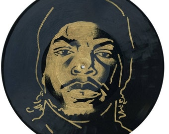 Ice Cube - Rappers of 1990 - original painting