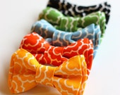 The Beau- urban lattice collection double stacked bow ties for boys of all ages