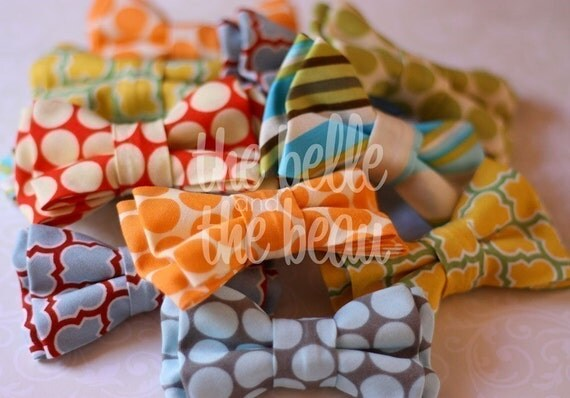 The Beau- double stacked bow ties for boys of all ages- choose your favorite 2