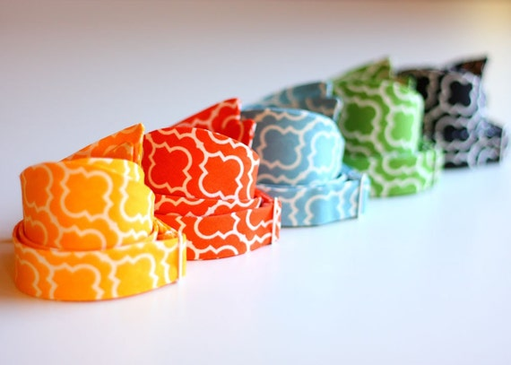 The Beau- men's urban lattice collection freestyle bow ties- choose your favorite shade