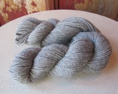 Pure Alpaca in Medium/Light Silver Grey - Beautiful From Irish Meadows