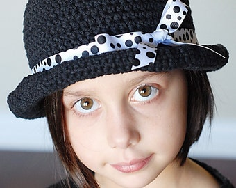 Basic Roly Hat Crochet Pattern *Instant Download* (Permission to sell all finished products)