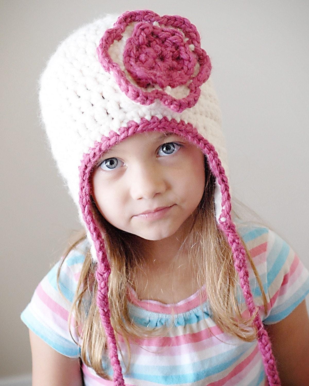 Crochet Chunky Earflap Hat Pattern : Chunky Earflap Hat Pattern