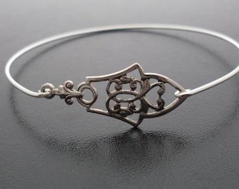 Bangle Bracelet Nina - Silver