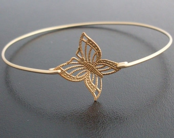 Lace Design Butterfly Bracelet, Butterfly Bangle, Butterfly Jewlery, Bridesmaid Bangle, Bridesmaid Gift, Bridesmaid Bracelet, Wedding Bridal